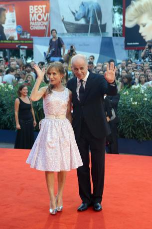 Isabelle Huppert e Tony Servillo