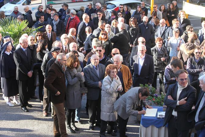 Funerale del generale Amos Spiazzi di Corte Regia