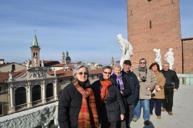 Vicenza, le terrazze della Basilica palladiana - Corriere Veneto