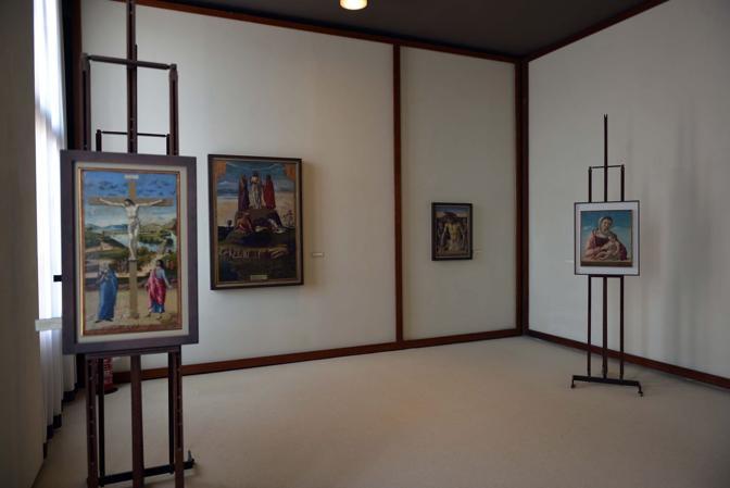 Le sale del museo Correr a Venezia - Quadrerie
