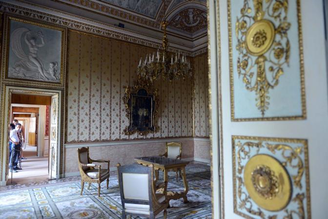 Le sale del museo Correr a Venezia - Le stanze di Sissi