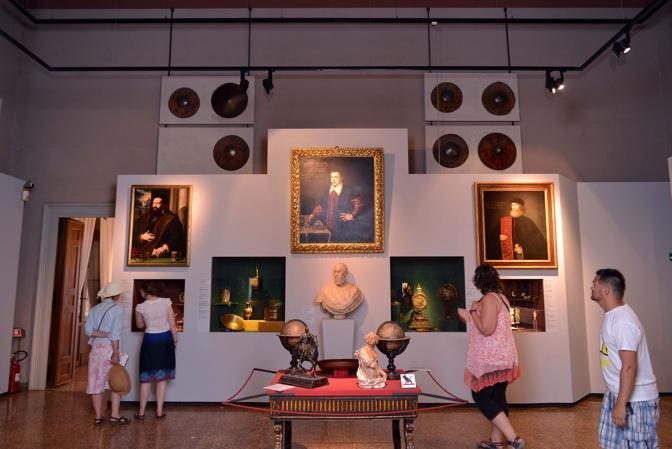 Le sale del museo Correr a Venezia