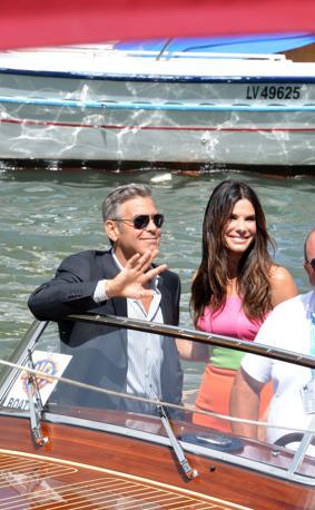 Clooney e Bullock al Lido
