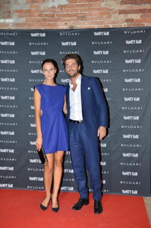 Anna Safrancic con il fidanzato