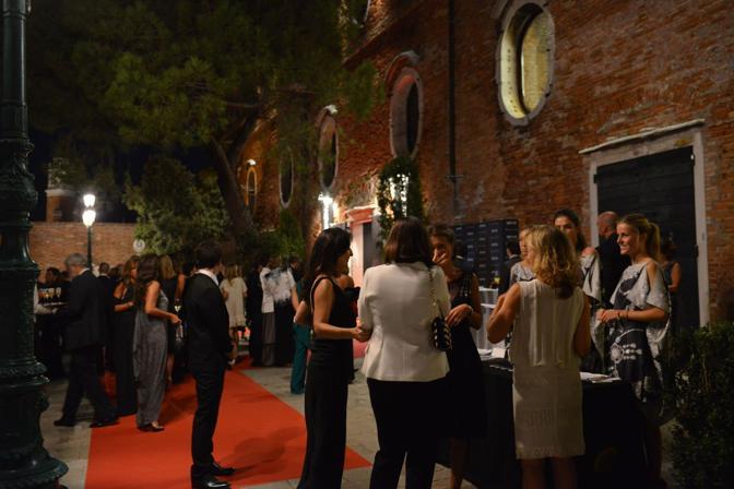 Gala di Bulgari e Vanity Fair ai Granai della Giudecca