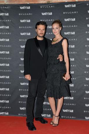 Eva Riccobono con il fidanzato Matteo Ceccarini