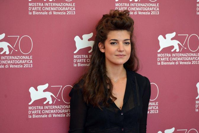 L'attrice Esther Garrel