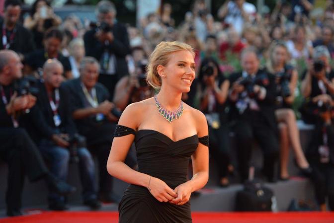 La passerella del film «Under the skin con Scarlett Johansson