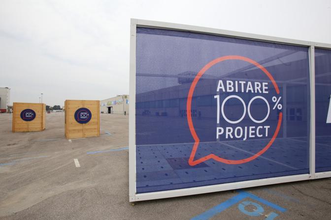 L 39 inaugurazione di abitare 100 project corriere veneto for Abitare a verona