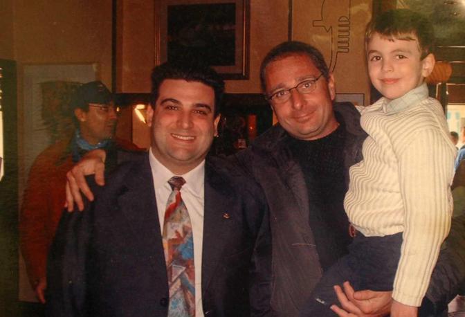 Diego Boscarato con Paolo Bonolis