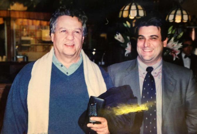 Diego Boscarato con Renato Pozzetto