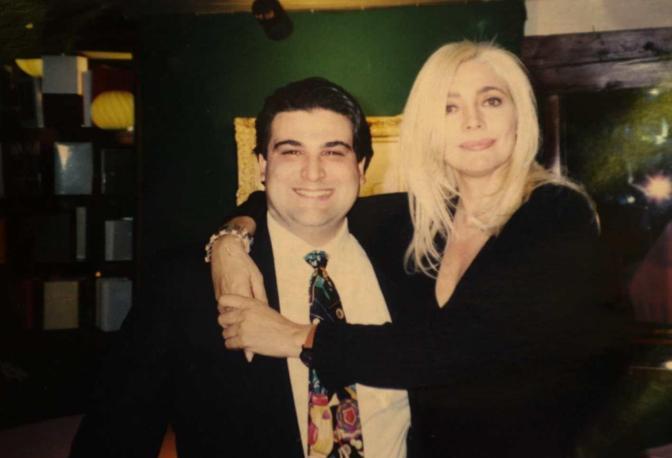 Diego Boscarato con Mara Venier