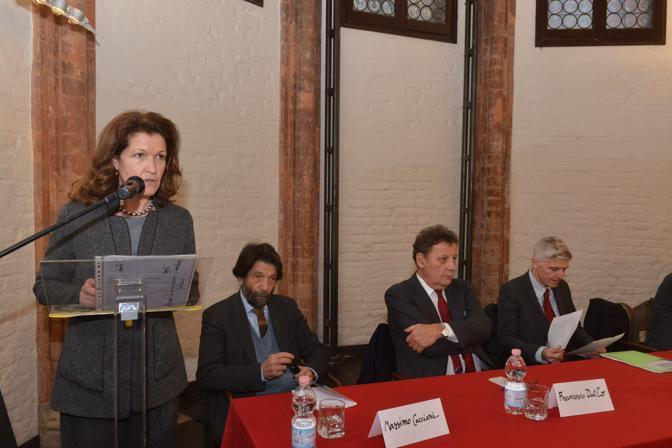 Venezia, il ministro Massimo Bray alla presentazione dei restauri delle nuove Gallerie dell'Accademia