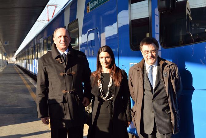 Renato Chisso, Maria Giaconia e Gianmichele Gambato