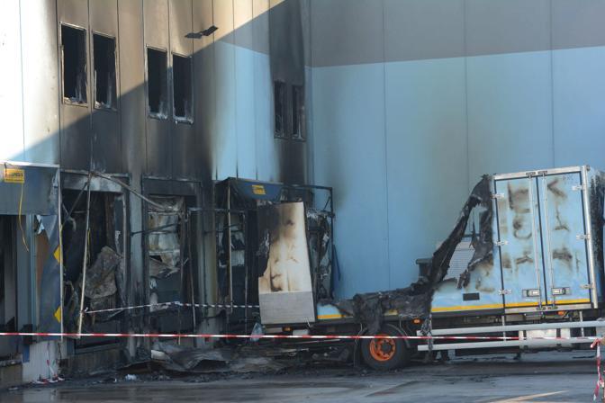Incendio alla Ditta Campagnaro Stroppari di Tezze sul Brenta