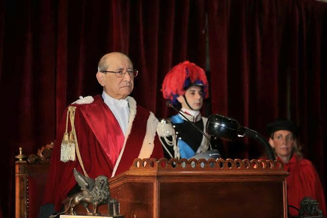 Il procuratore generale della Repubblica Pietro Calogero