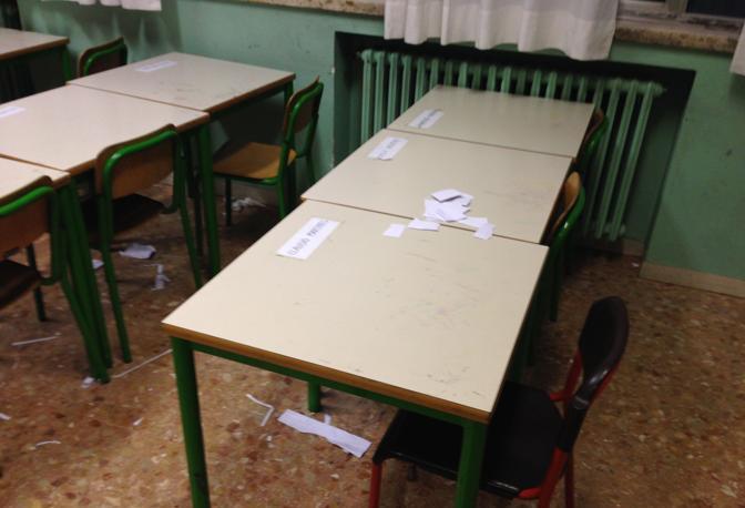Risultati immagini per sporcizia nelle aule