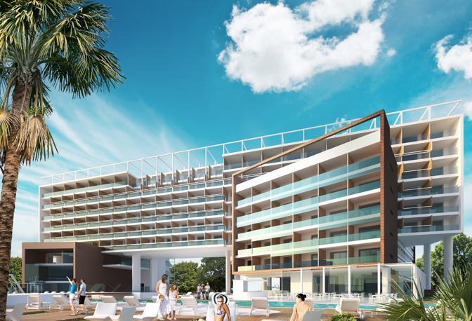 A jesolo il primo hotel 5 stelle corriere veneto for Hotel a venezia 5 stelle