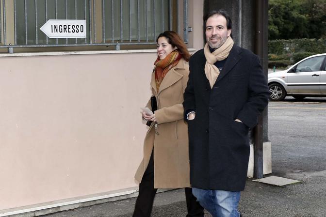 Francesco Fiore verso il seggio