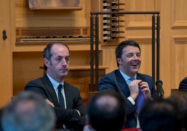 Zaia e Renzi