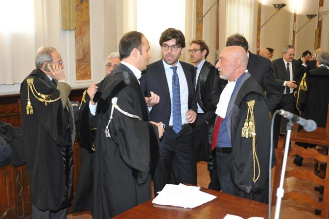Rovigo, la lettura della sentenza sul processo Enel al tribunale di Rovigo