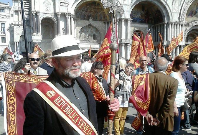 Venetisti a San Marco (Sabadin/Vision)