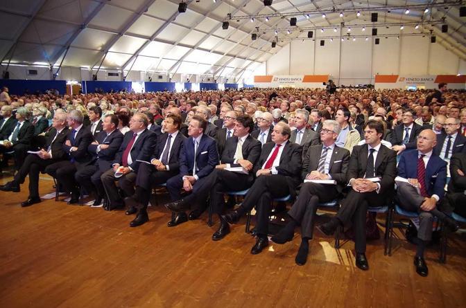 I nuovi consiglieri in prima fila