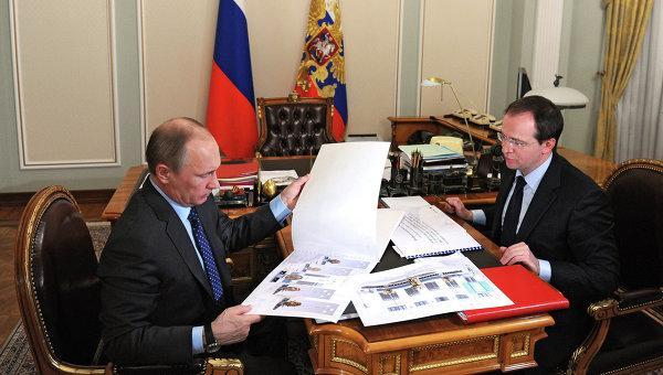 Medinsij con Putin