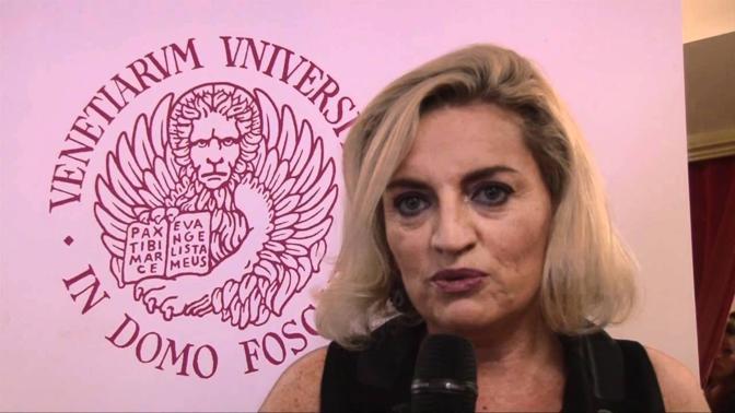 Il prorettore che ha deciso il premio, Silvia Burini
