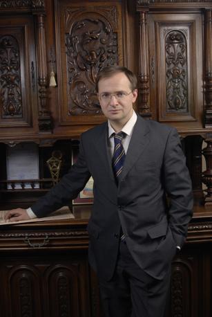 Il ministro russo Medinskij