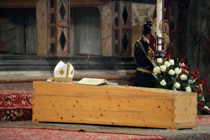 Venezia. Il funerale del patriarca emerito Marco Ce nella basilica di San Marco