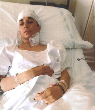 Laura Roveri ferita