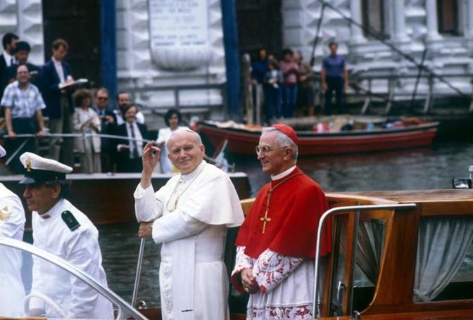Risultati immagini per giovanni paolo II venezia