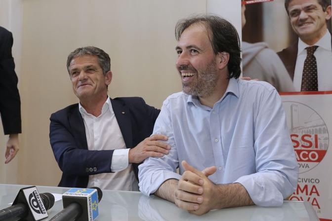 Padova, l'accordo elettorale tra Ivo Rossi e Francesco Fiore