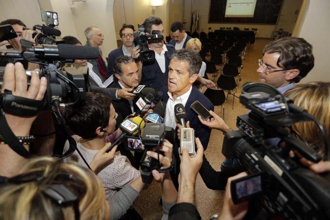 Ivo Rossi dopo il votoi