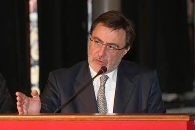 L'assessore regionale alle Infrastrutture del Veneto Renato Chisso