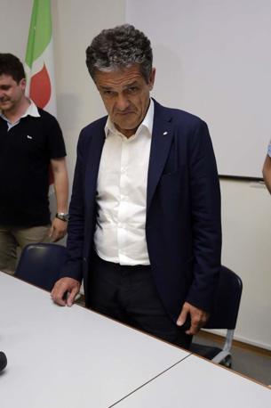 Ivo Rossi nella sede del Pd