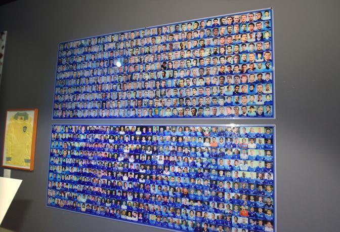 La raccolta dei giocatori che hanno indossato la maglia azzurra