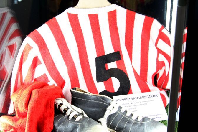 La maglia di Alfonso Santagiuliana