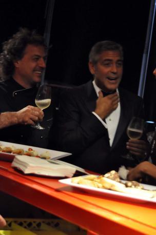 Vettorello e Clooney