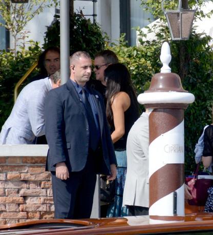 Venezia 26/09/2014 Matrimonio di George Clooney e Amal L arrivo di Matta Damon al Cipriani (c)Andrea Pattaro/Vision - Matrimonio di George Clooney e Amal Arrivo Matt Damon - fotografo Andrea Pattaro/Vision
