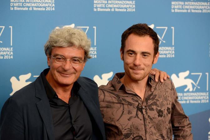Elio Germano e Mario Martone