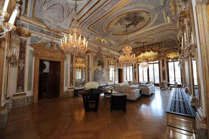 Venezia, hotel Amman resort, il salone da ballo