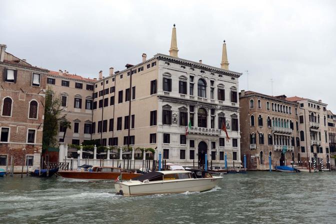 Venezia, l'hotel Amman sul Canal Grande