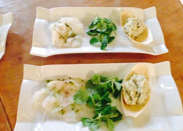 Baccala, uno dei piatti del nuovo menu dell'Antico Brolo di Padova