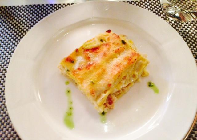 Lasagne al baccalà