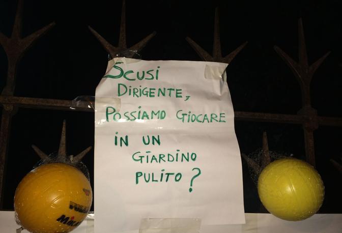 I cartelli di protesta