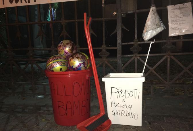 Palloni e proteste