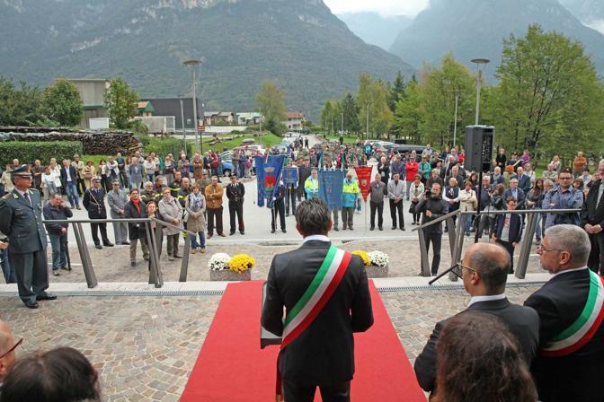 Longarone, celebrazione del cinquantunesimo anniversario della stage del Vajont
