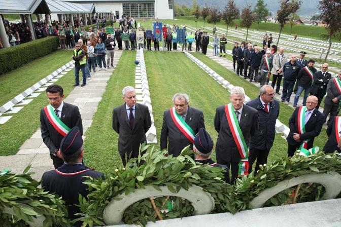 Longarone, cimitero delle vittime del Vajont a Fortogna